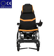 Складная инвалидная электроколяска D-6036A. Инвалидная коляска. Кресло коляска., фото 5