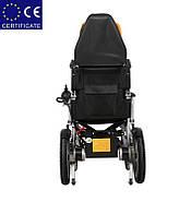Складаний електричний візок інвалідний D-6036A. Інвалідна коляска. Крісло коляска., фото 6