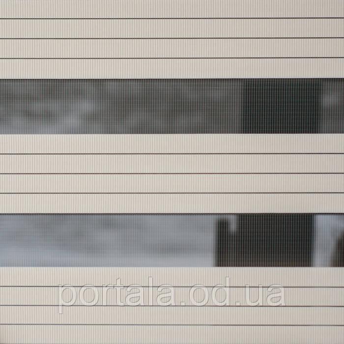 Рулонная штора День-Ночь - СИСТЕМА ПРЕМИУМ (открытая систем) - DN34