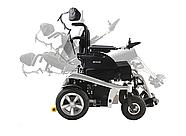 Многофункциональная электроколяска для инвалидов W1036. Регулируемый наклон. Инвалидная коляска., фото 3
