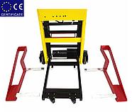 Лестничный подъемник для инвалидной коляски 11-С. Подъемник для инвалидов электрический. Инвалидная коляска., фото 5