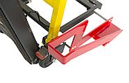Лестничный подъемник для инвалидной коляски 11-С. Подъемник для инвалидов электрический. Инвалидная коляска., фото 7