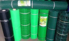 Забор садовый,ячейка 85х85мм рулон 1м х 20м (пластиковый)темно и светло зеленый