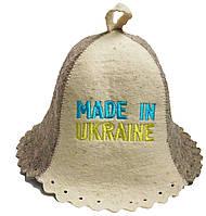 Шапка для бани и сауны из натуральной шерсти - Made in Ukraine