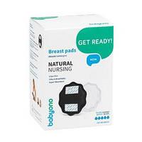Прокладки лактационные BabyOno Natural Nursing, черный, 24 шт.