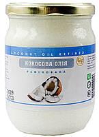 Кокосовое масло 500г пищевое рафинированное дезодорированное (RBD) Малайзия, для кулинарии или косметологии, фото 1