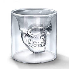 Оригинальный стакан в виде черепа 75 мл - УЦЕНКА