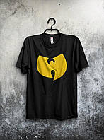 Черная футболка (большой принт) (РЕПЛИКА), фото 1