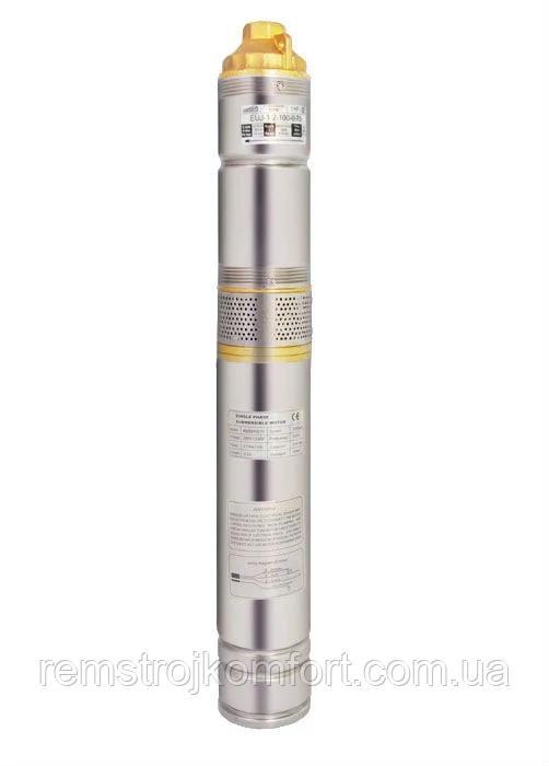 Глубинный насос EUJ 2.5-60-0.75 kw+контрольбокс