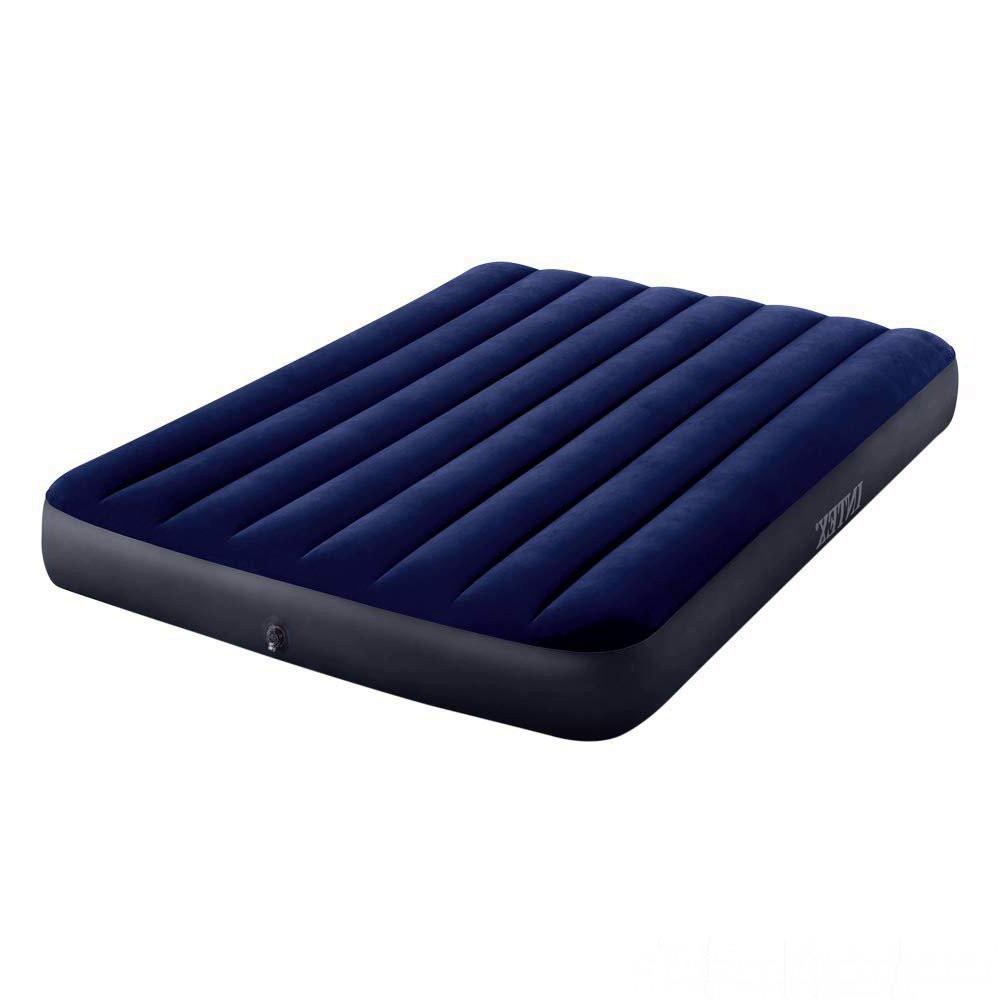Надувний матрац ліжко полуторний Intex 64758 (137*191*25 см)