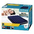 Надувний матрац ліжко полуторний Intex 64758 (137*191*25 см), фото 4