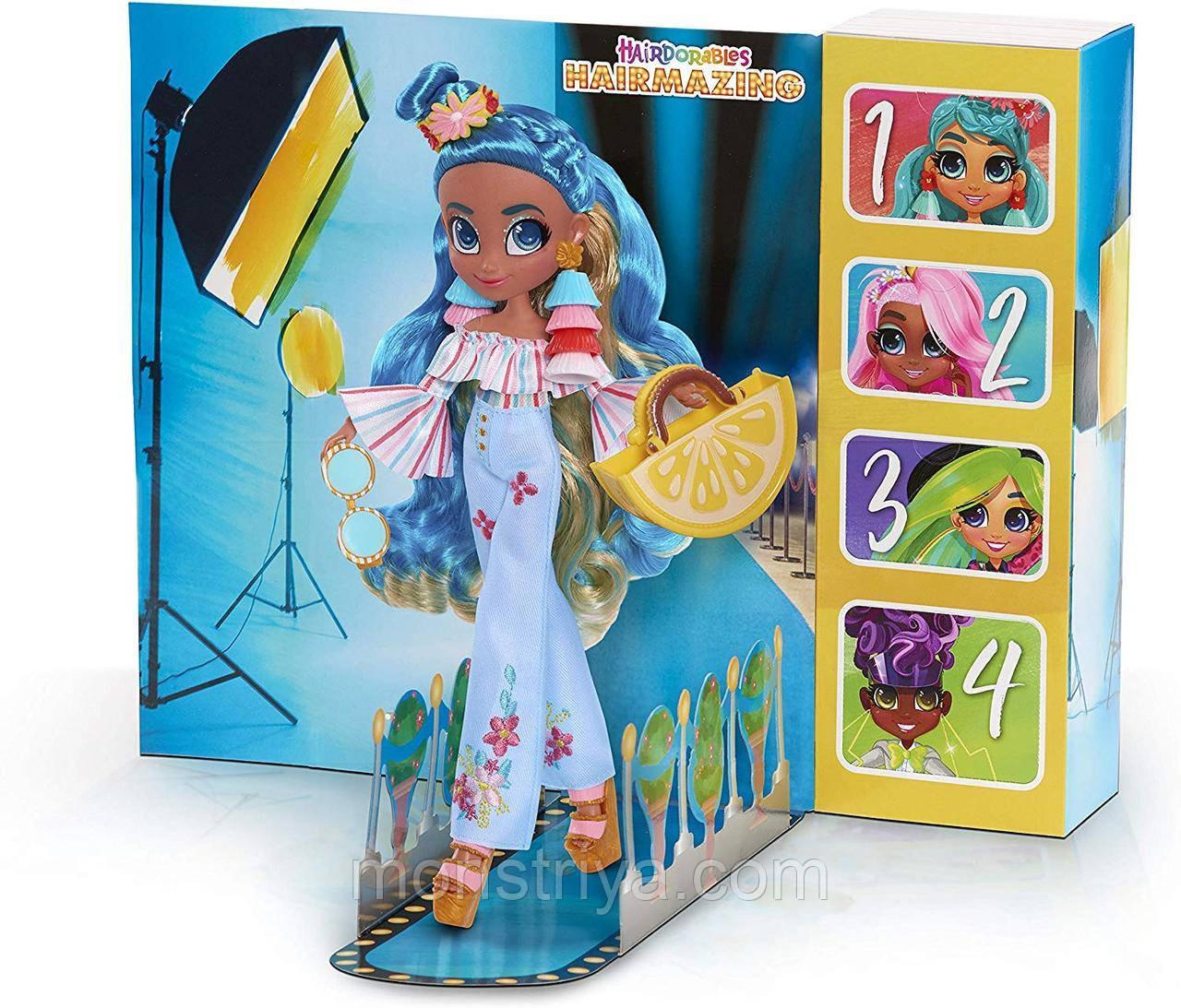 Большая Кукла Хэрдораблс Ноа  Hairdorables Hairmazing Noah Fashion Оригинал