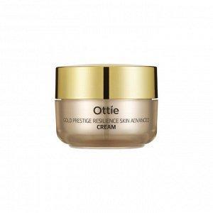 Антивіковий крем для обличчя Ottie Prestige Gold Resilience Advanced Cream 50ml