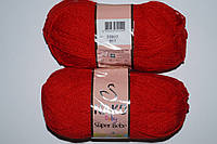 Nako Super Bebe - 207 красный