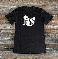 Мужская футболка  Джокер Joker черная  (РЕПЛИКА), фото 1