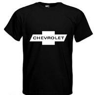Хлопковая футболка мужская CHEVROLET шевролет