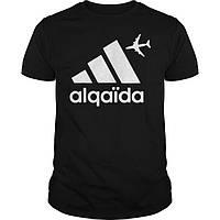 Модная футболка с рисунком alqaida алкаида