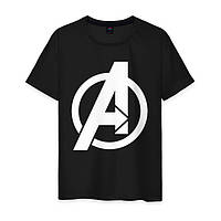 Молодежная футболка  с рисунком Мстители, фото 1