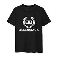 Футболка мужская черная Belenciaga, фото 1