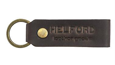 Бумажник мужской из матовой кожи ручной работы HELFORD Смит brn (roz-1133159980), фото 3