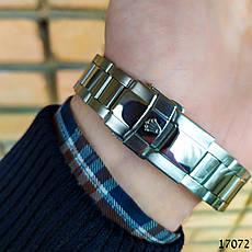 Часы мужские в стиле Rolex. Мужские наручные часы зеленые. Часы с зеленым циферблатом Годинник чоловічий, фото 3