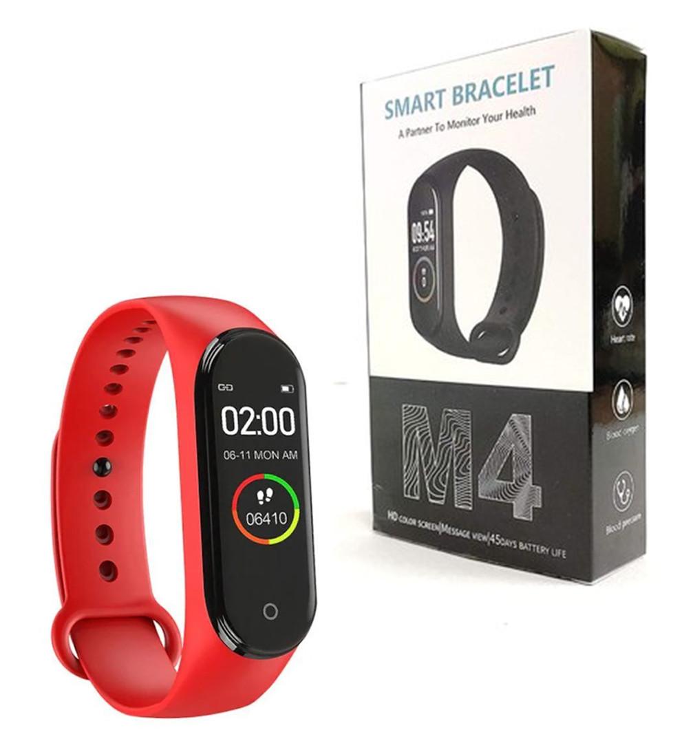 Фитнес браслет Smart Band M4 Красный