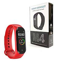 Фитнес браслет Smart Band M4 Красный, фото 1