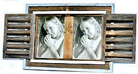 "Фоторамка ""Окно со створками"" в стиле Прованс 22х29 см"
