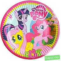 Тарелки бумажные Little pony 10шт.