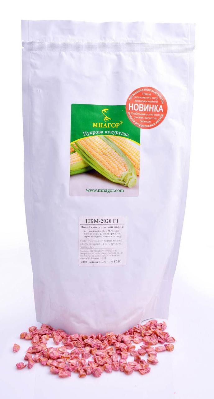 Кукурудза НБМ 2020 F1, Sh2-тип, 1000 семян,  75-78 дней, новинка