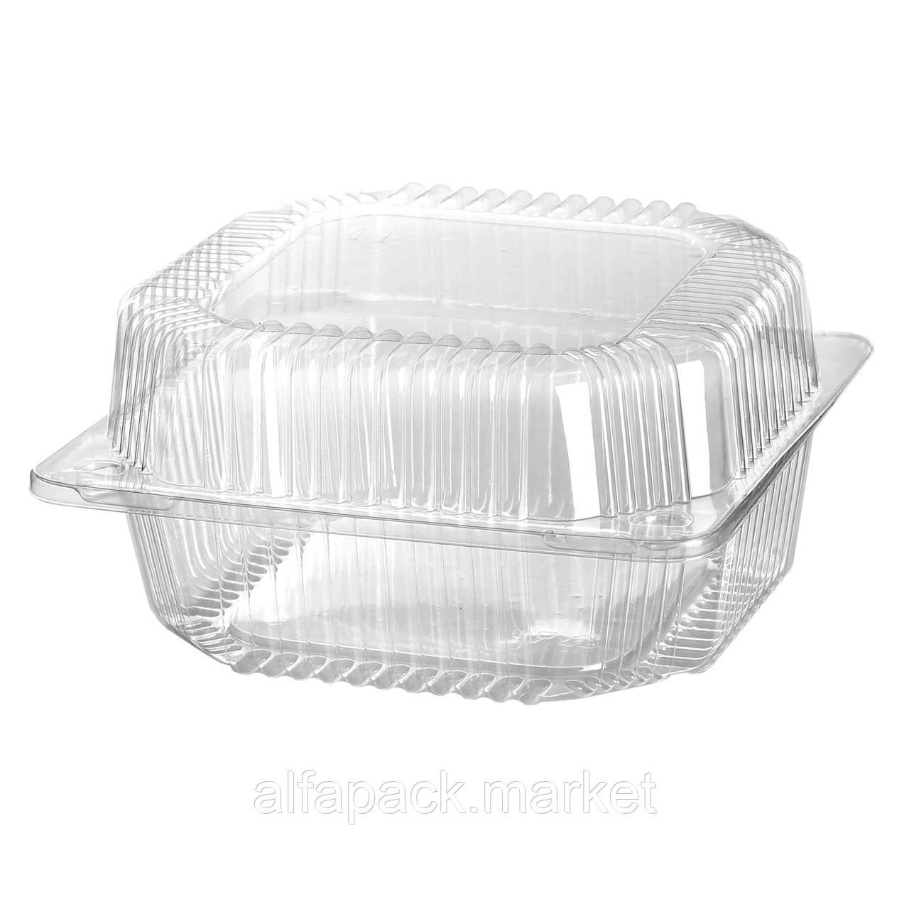 ПС-100 Пластиковий контейнер 135*130*77 (500 шт в ящику) 010100019