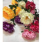 Штучний півонія 3 квітки ( 115 см)