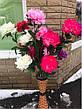 Искусственный пион 3 цветка ( 115 см), фото 6