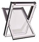 Мансардні вікна ПВХ Roto Designo WDF R45  K AL Мансардные окна, фото 7