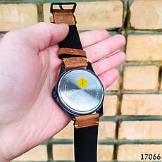 Часы мужские в стиле Curren. Мужские наручные часы черные. С черным циферблатом Годинник чоловічий, фото 3