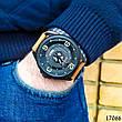 Часы мужские в стиле Curren. Мужские наручные часы черные. С черным циферблатом Годинник чоловічий, фото 6