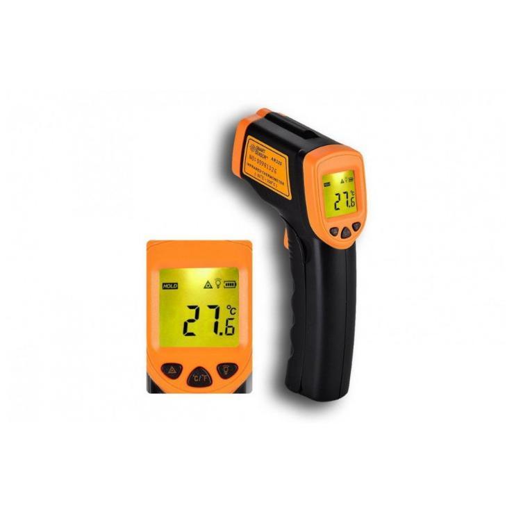 Промышленный градусник пирометр TEMPERATURE AR 360 от -50c до +420c