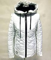 Весенняя белая женская куртка Распродажа!