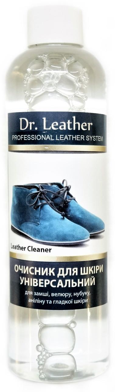 Универсальный очиститель для всех типов кожи 250 мл. LEATHER CLEANER 3.8