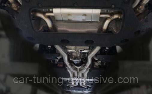 MANSORY exhaust system for Rolls-Royce Cullinan
