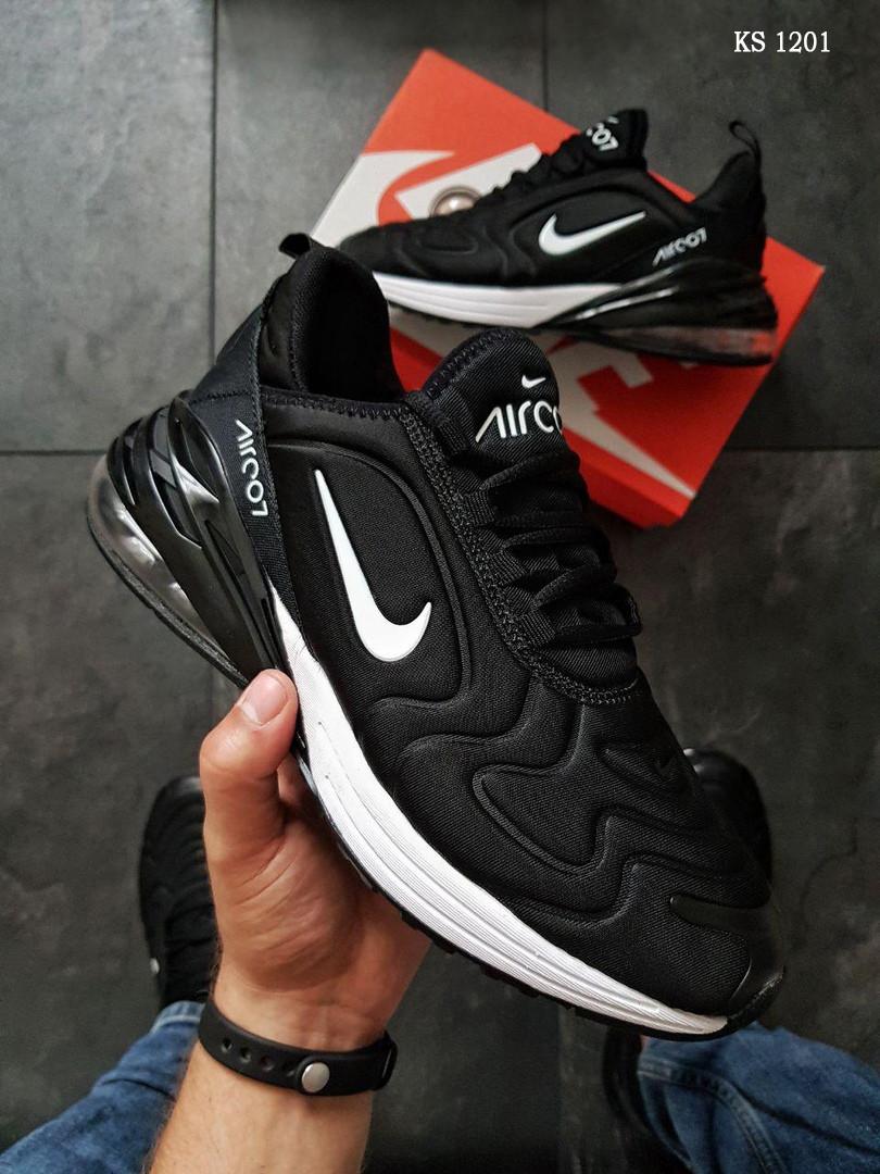 Кросівки чоловічі Nike Air Max 270 - Найк аір макс, чорні / чоловічі кросівки (Топ репліка ААА+)