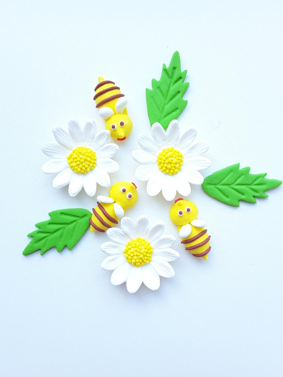 Пасхальный набор Ромашки и пчелки