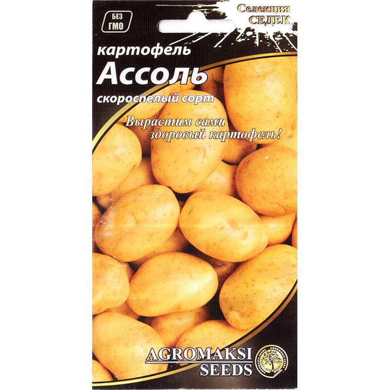 """Семена картофеля раннего """"Ассоль"""" (0,01 г) от Agromaksi seeds"""