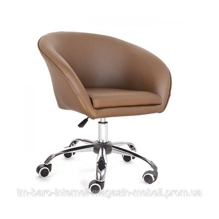 Кресло Мурат К, коричневый кожзам