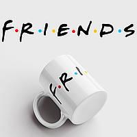 Кружка с принтом Friends. Сериал Друзья. Чашка с фото, фото 1