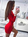 """Женское трикотажное платье-гольф """"Amaretto"""", фото 4"""