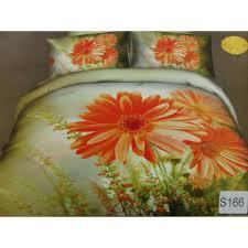 Сатиновое постельное белье евро  3Д ELWAY  S166