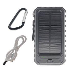 Портативный аккумулятор с солнечной батареей 10000 mAh Solar Battery SB1 Black SKL25-149745