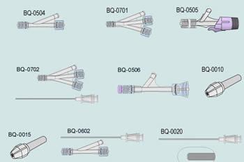 Одинарный Y-клапан для ангиопластики, фото 2