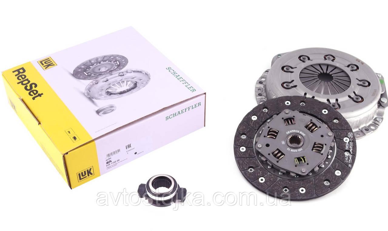 Комплект зчеплення (диск+корзина+підшипник) Samand (Саманд) LUK (Німеччина)